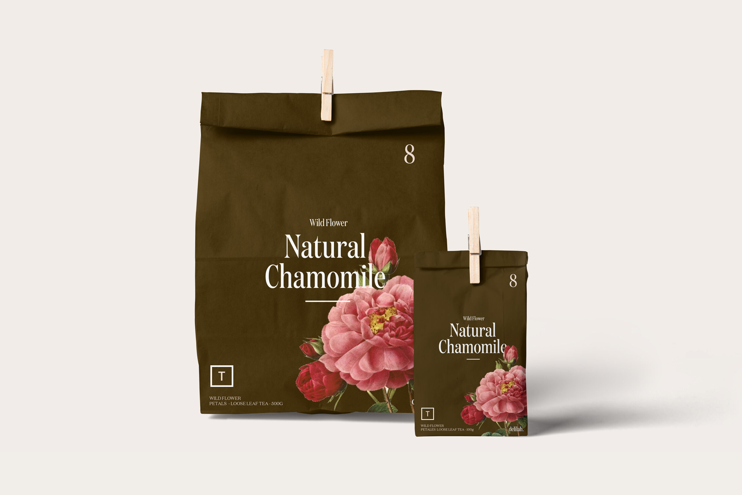 Floral Design Coffee Packaging Vancouver Canada
