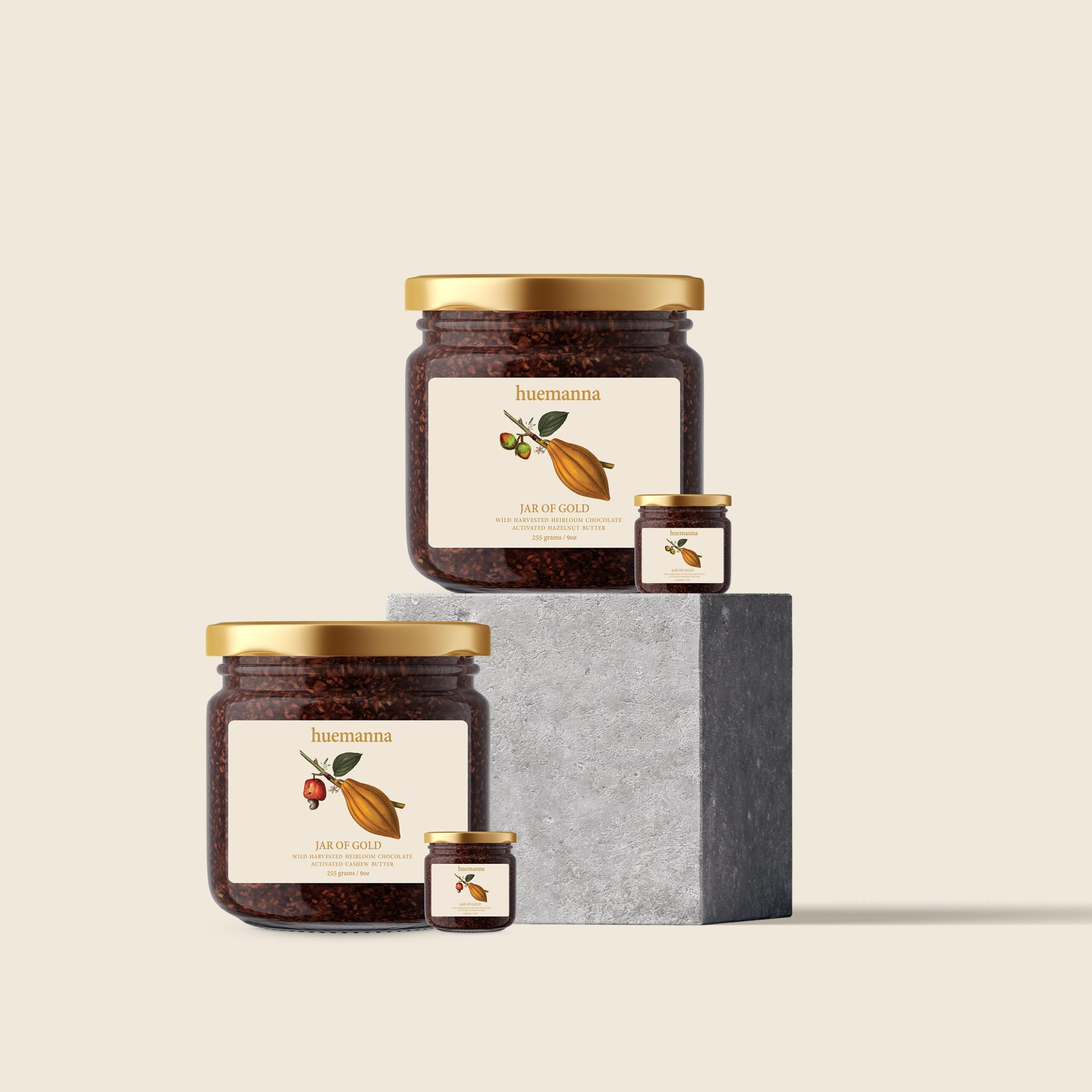 Monograph&Co. Brand Design Vancouver - Packaging Glass Jars